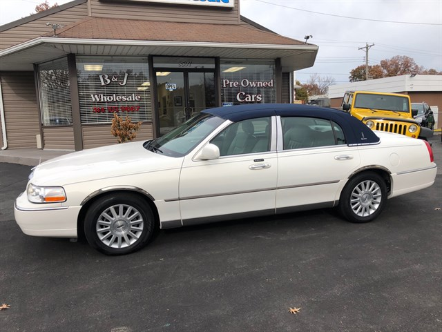 2003 Lincoln Town Car Stock No 606150 By B J Wholesale St Louis Mo
